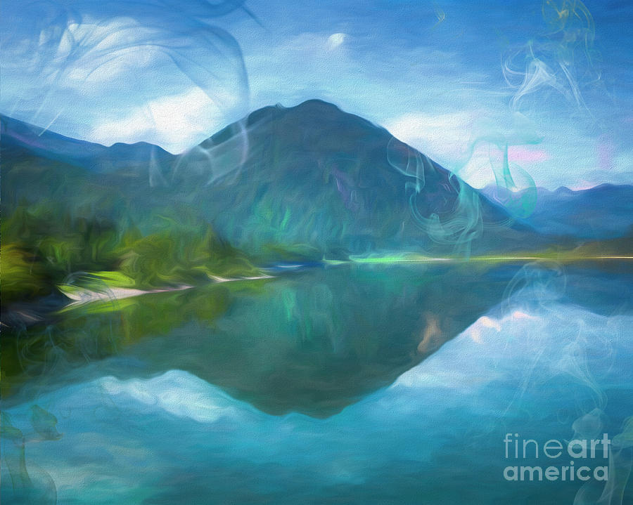 Alpine Lake by Edmund Nagele