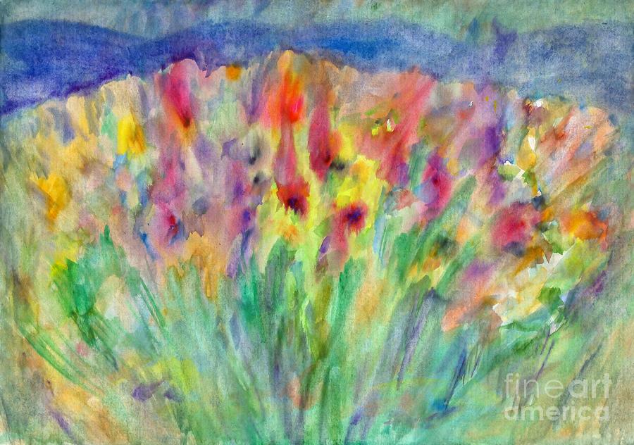 Alpine meadow by Irina Dobrotsvet