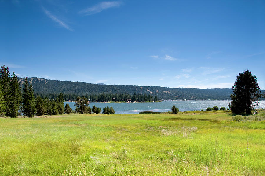 Alpine Mountian Lake And Meadow Photograph by Alynst
