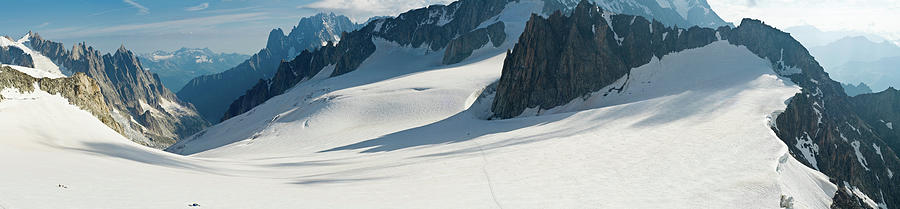 Alps Mont Blanc Vall&233e Blanche Photograph by Fotovoyager