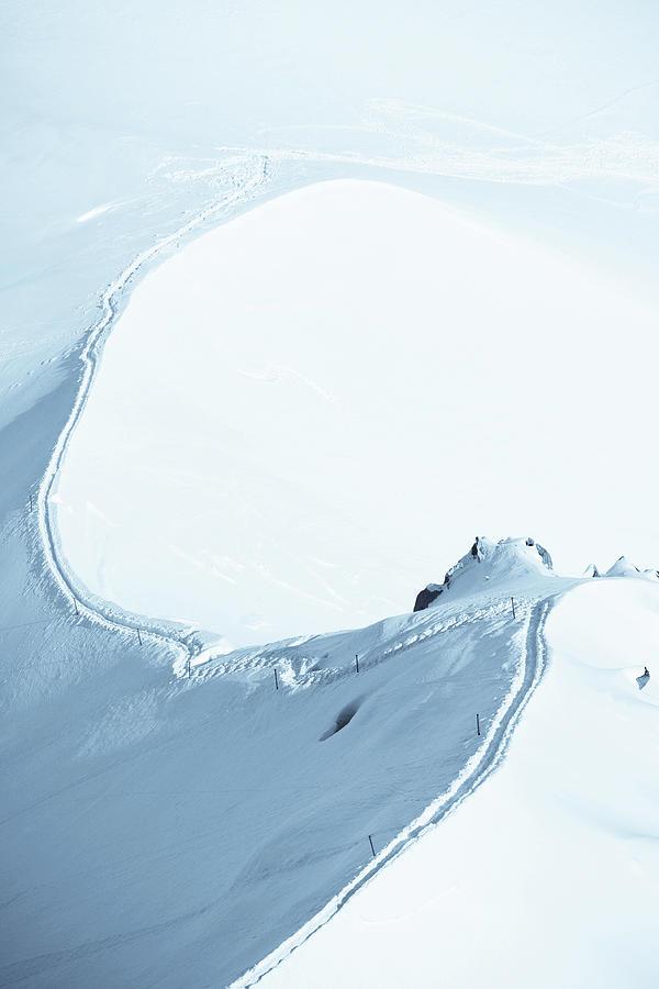 Alps Snow Mountain Adventure - Xlarge Photograph by Phototalk