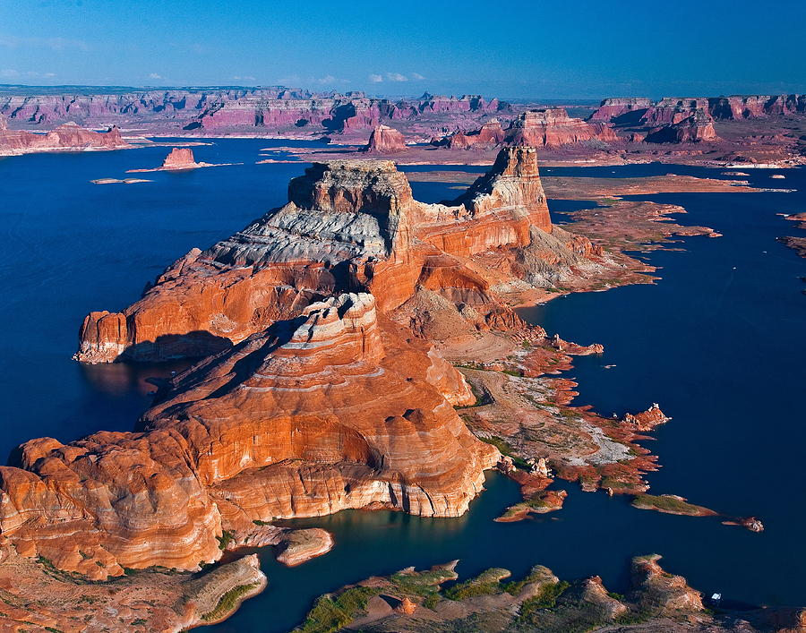 Alstrom Point, Lake Powell Photograph by Gleb Tarro
