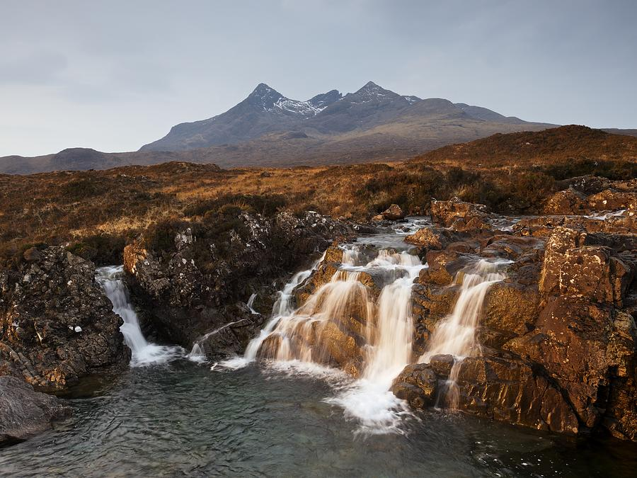 Alt Dearg Mor Falls by Stephen Taylor