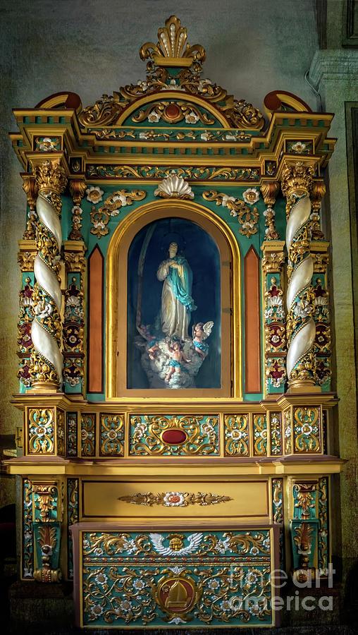 Catholic Photograph - Altar De La Inmaculada Concepcion by Adrian Evans