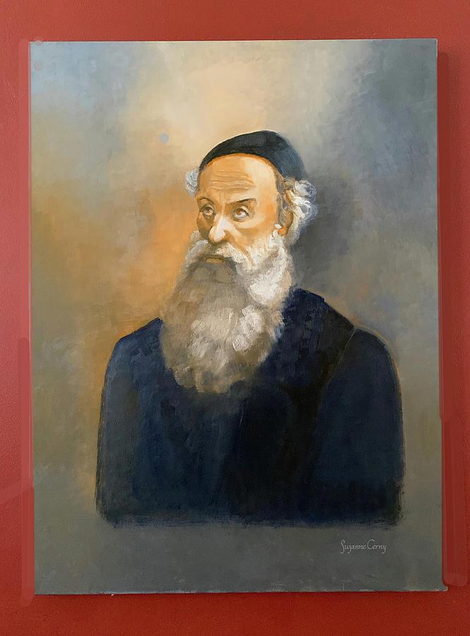 Alter Rebbe Schneur Zalman by Suzanne Cerny