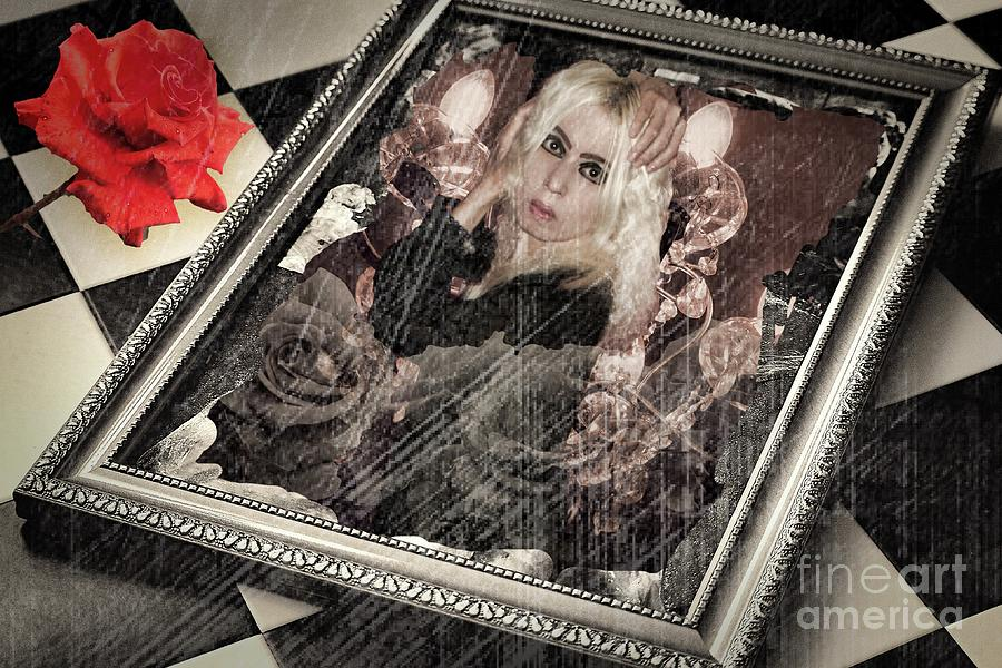 Altered state of consciousness Final episode In the labyrinth by Fine art photographer JULIE