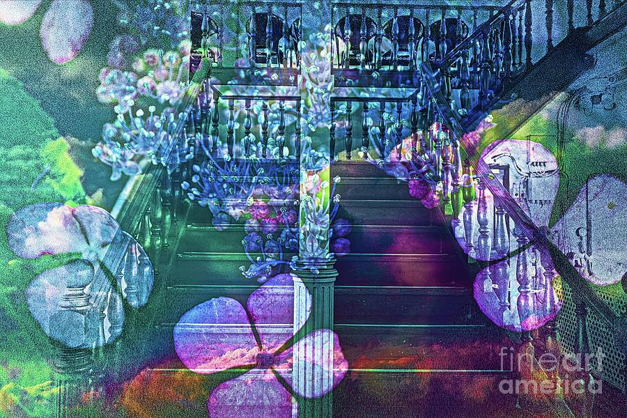 Altered state of consciousness Open the Door by Fine art photographer JULIE