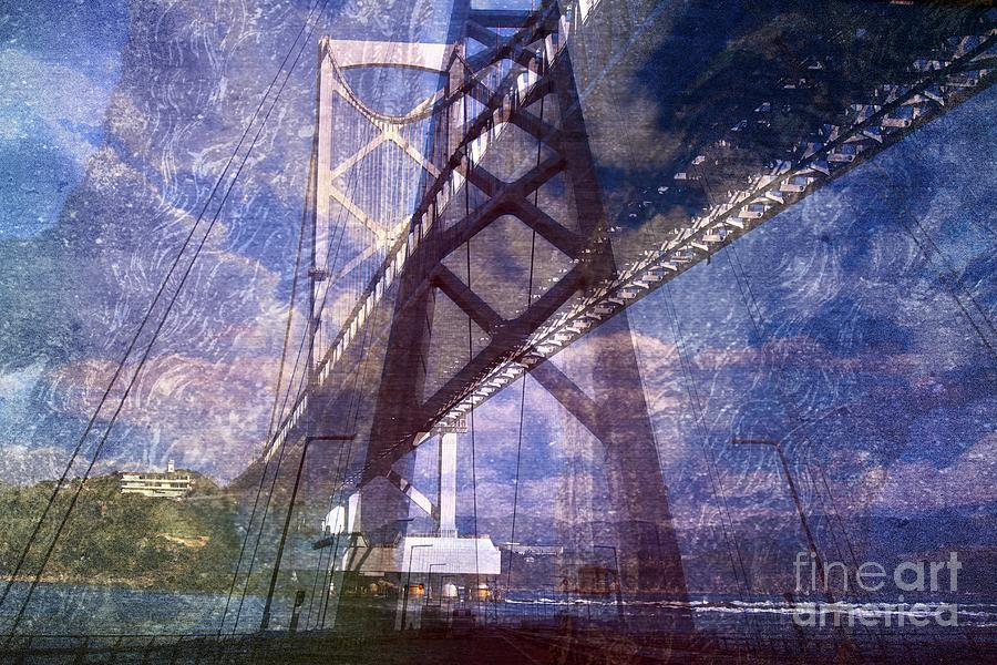 Altered state of consciousness Over the sea by Fine art photographer JULIE