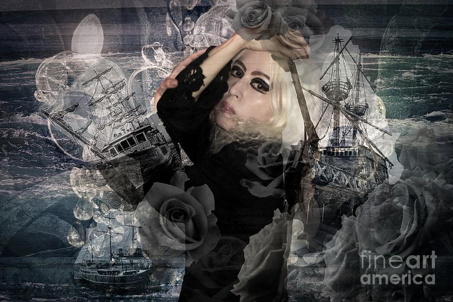 Altered state of consciousness Shipwreck by Fine art photographer JULIE