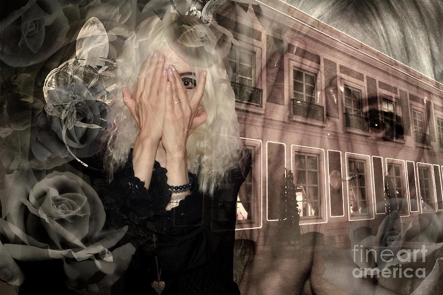 Altered state of consciousness Timeline traveler by Fine art photographer JULIE