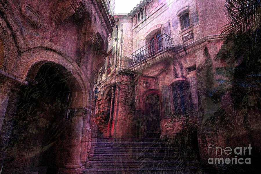 Altered state of consciousness To town by Fine art photographer JULIE