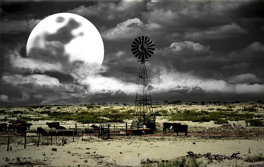 Western Photograph - Altered State Western Landscape by Andrea Lazar