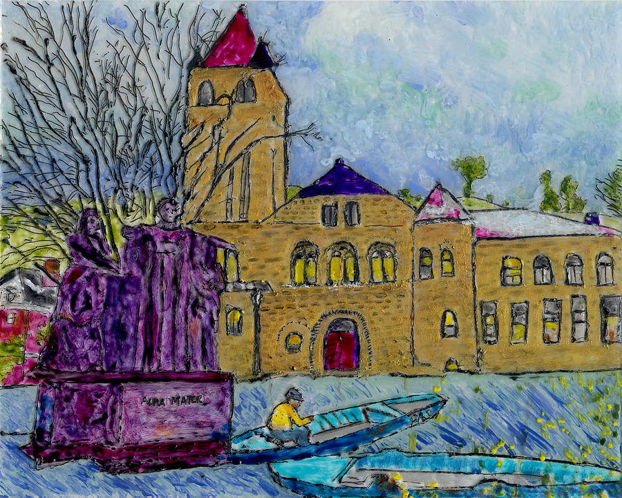 Altgeld, Alma and Van Gogh by Phil Strang