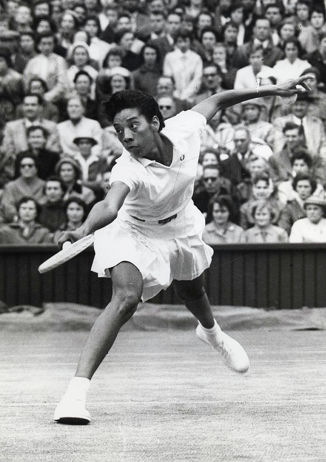 Althea Gibson Dies Photograph by Hulton Archive
