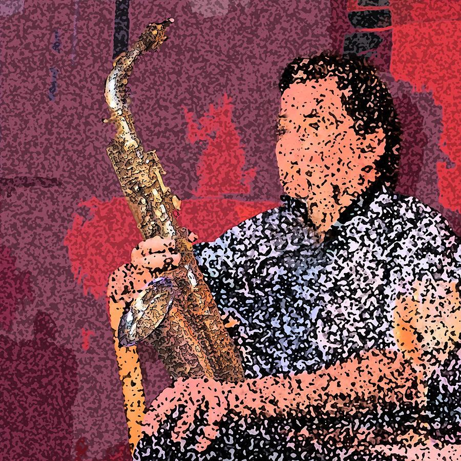 Alto Sax by Jessica Levant