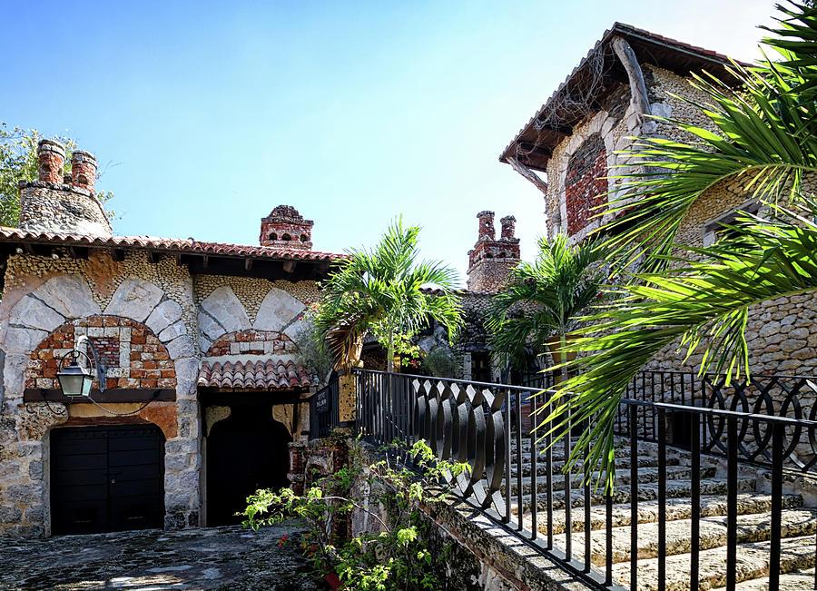 Altos de Chavon village by Shirley Mitchell