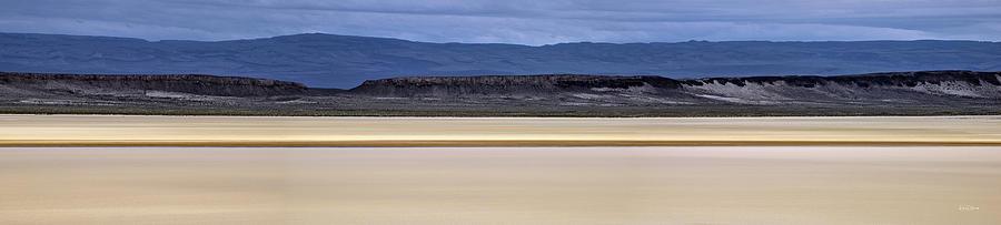 Alvord Desert Photograph - Alvord Panoramic 2 by Leland D Howard