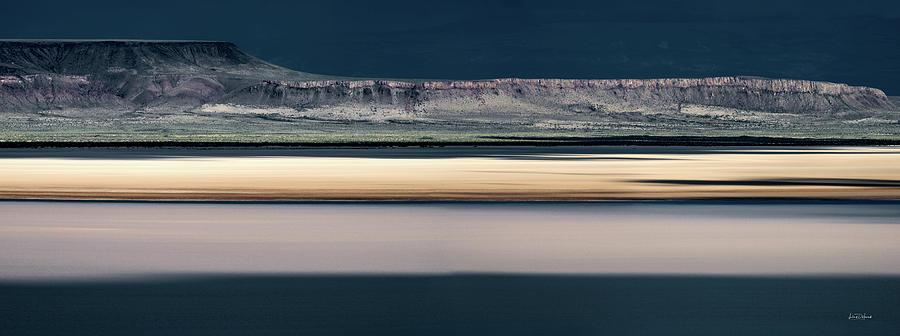 Alvord Desert Photograph - Alvord Panoramic 3 by Leland D Howard