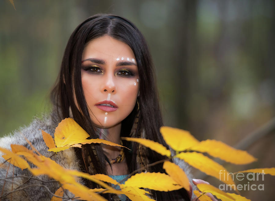Alyssa - First Nations Interior Designer Photograph