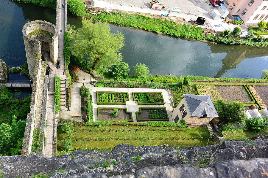 Luxembourg City Photograph - Alzette River, Luxembourg City by Two Small Potatoes