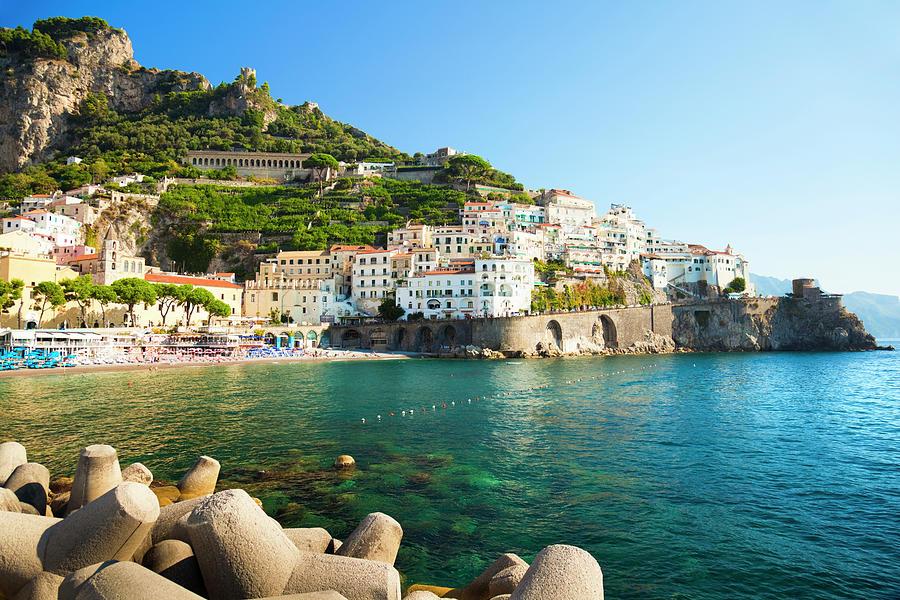 Amalfi Coast, Italy Photograph by Brzozowska