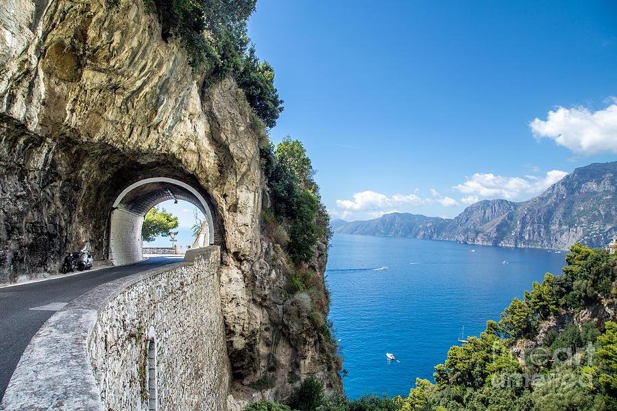 Motor Photograph - Amalfi Coast Italy by Marcelo Alex