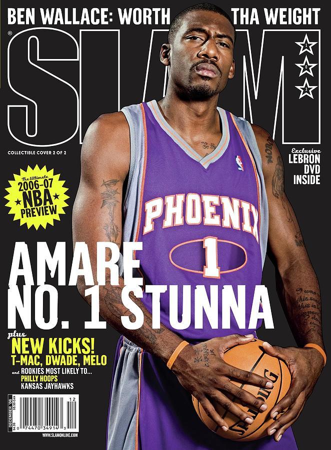 Amare No. 1 Stunna SLAM Cover Photograph by Atiba Jefferson