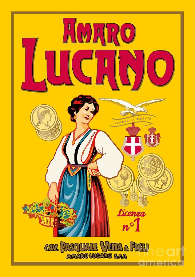 Amaro Digital Art - Amaro Lucano by Studio Poco Los Angeles