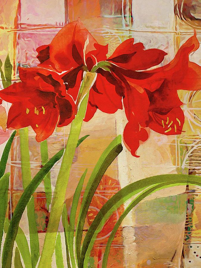 Amaryllis Flower by Lutz Baar