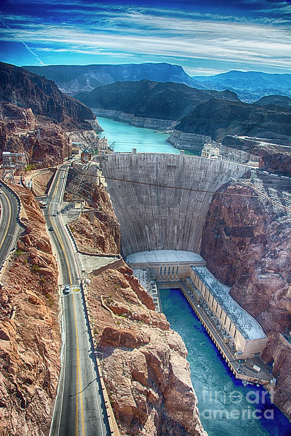 Amazing Hoover Dam by Ken Johnson