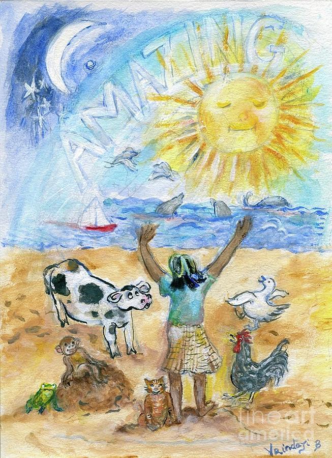 Amazing Morning Bliss by Claremaria Vrindaji Bowman