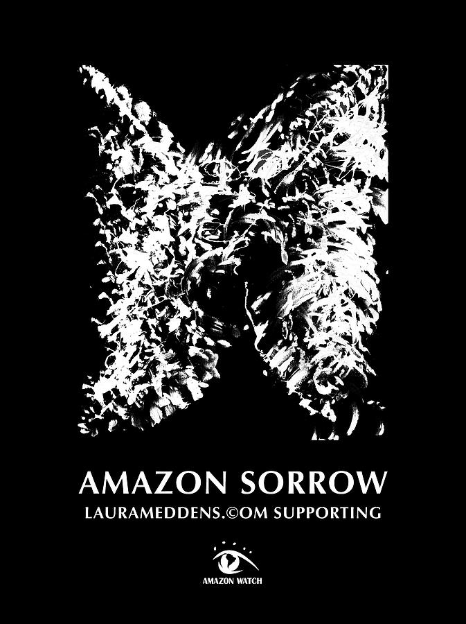 Amazon Sorrow Coloring Poster by Laura Meddens