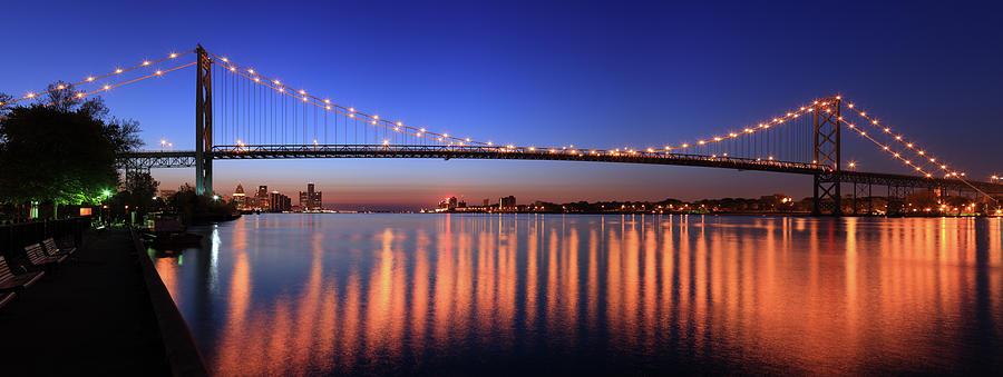 Ambassador Bridge, Detroit, Michigan Photograph by Jumper