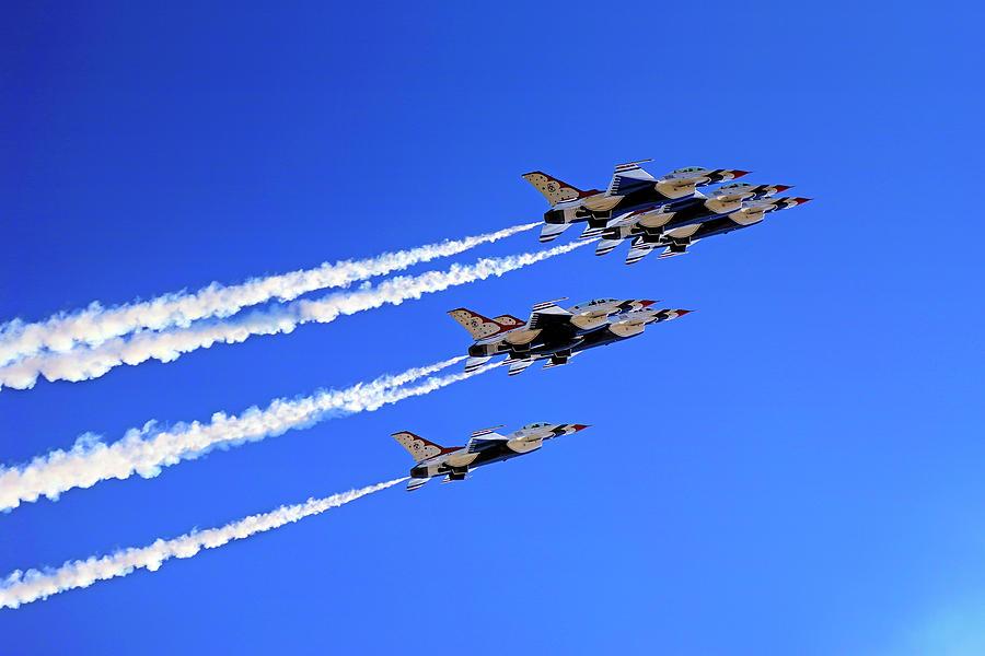 Ambassadors in Blue - Thunderbirds - Air Force by Jason Politte