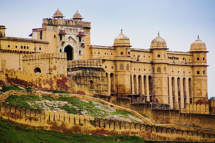 Amber Fort - Jaipur Photograph by Joerg Reichel