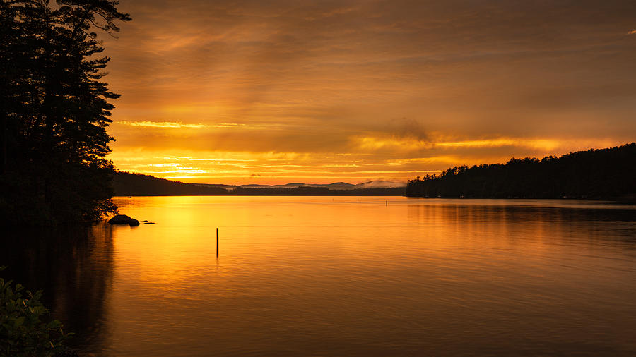 Amber Skies by MIKE MCQUADE