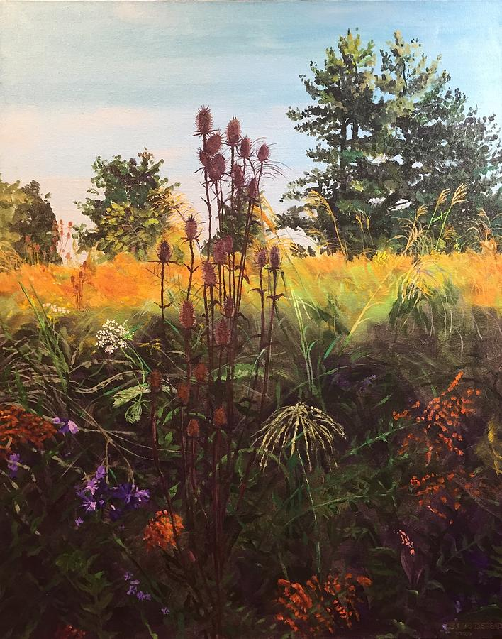 Landscape Painting - Amberley Green 1 by Thomas Stead