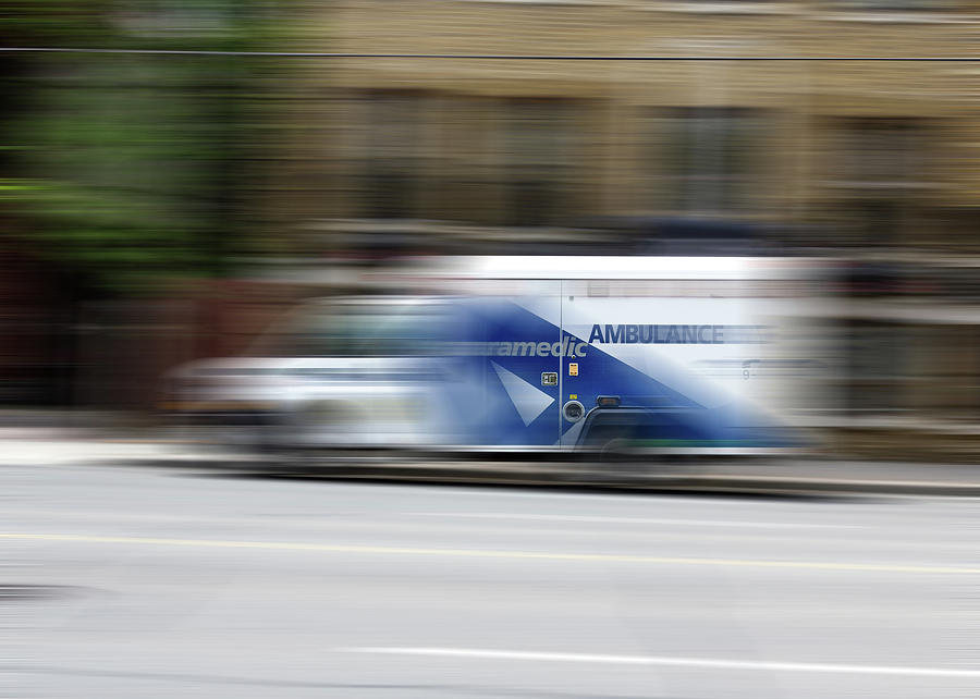 Ambulance No 1 by Brian Carson