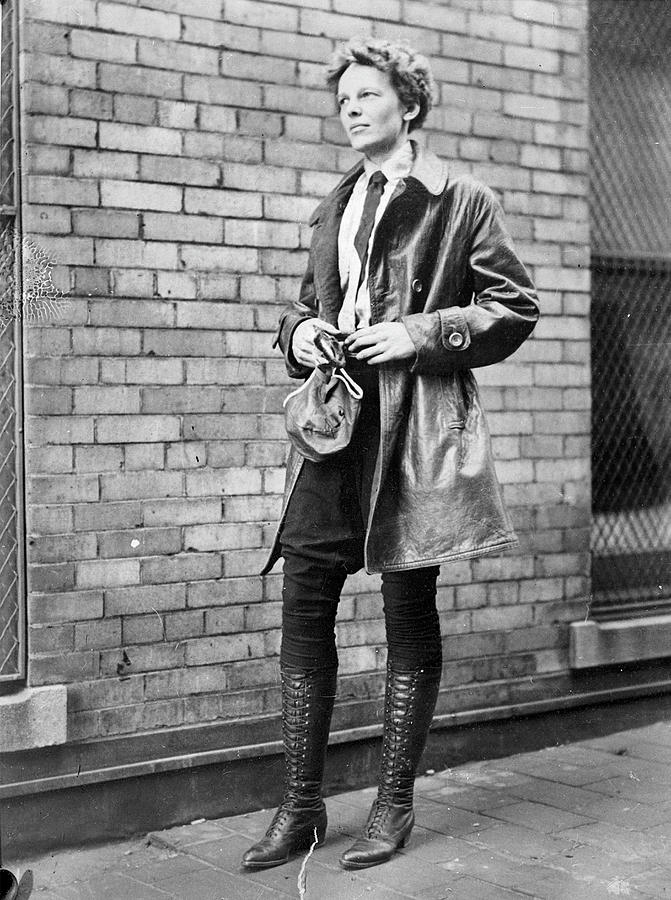 Amelia Earhart Photograph by Chicago History Museum