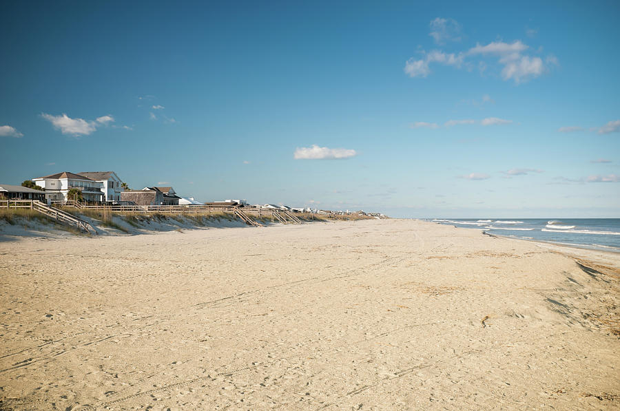 Amelia Island Beach In Florida, Usa Photograph by Code6d