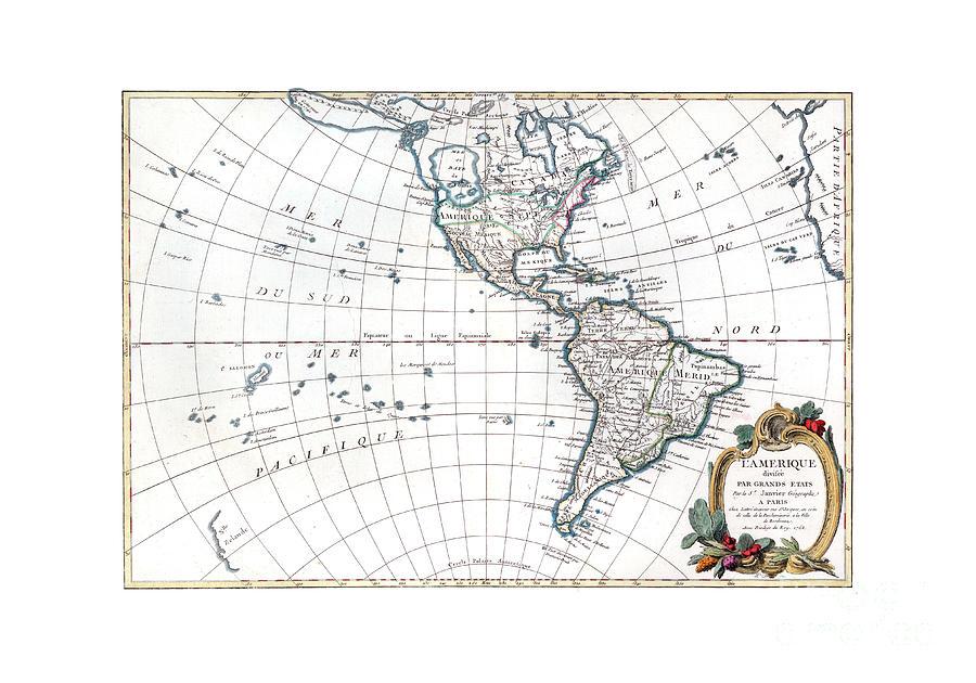 America 1762 by C Janvier
