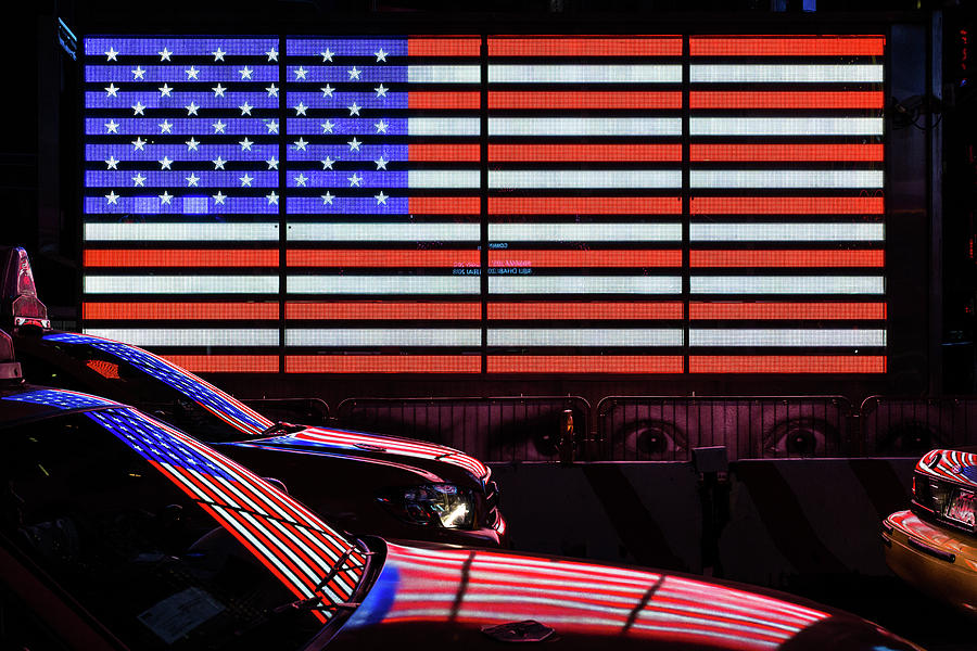 Manhattan Photograph - America Is Watching You by Hervé Loire