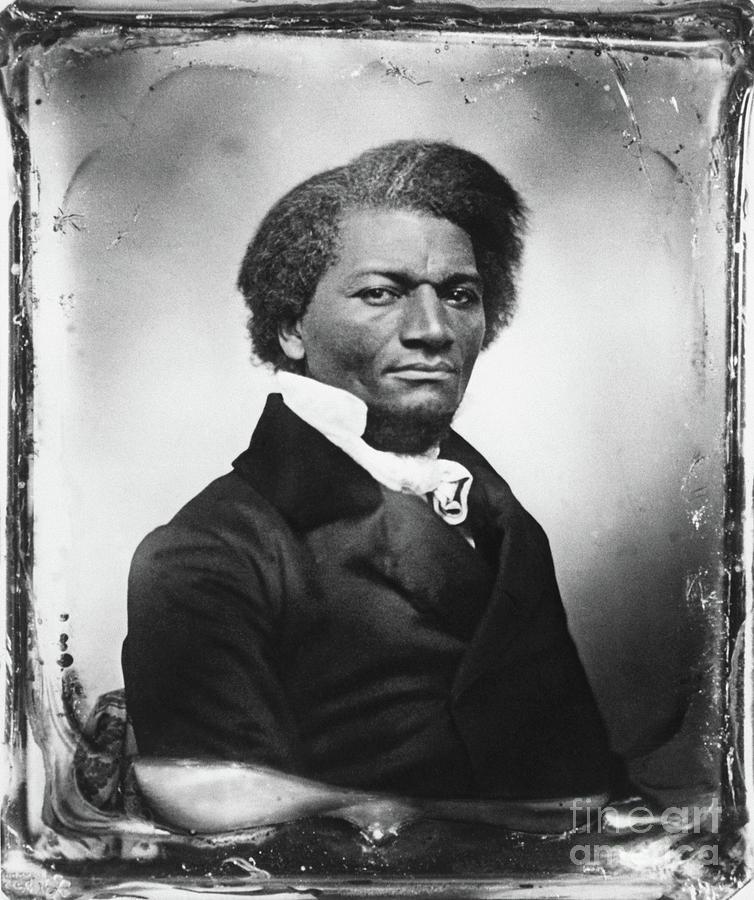 American Abolitionist Frederick Douglass Photograph by Bettmann