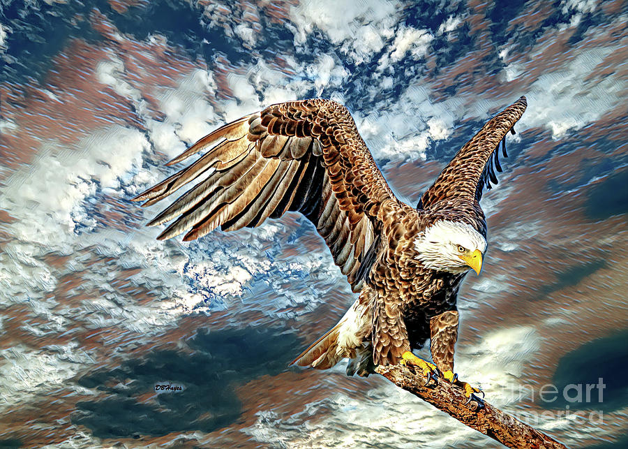American Bald Eagle Artistry by DBHayes
