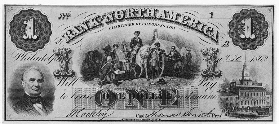 American Civil War Currency Photograph by Kean Collection