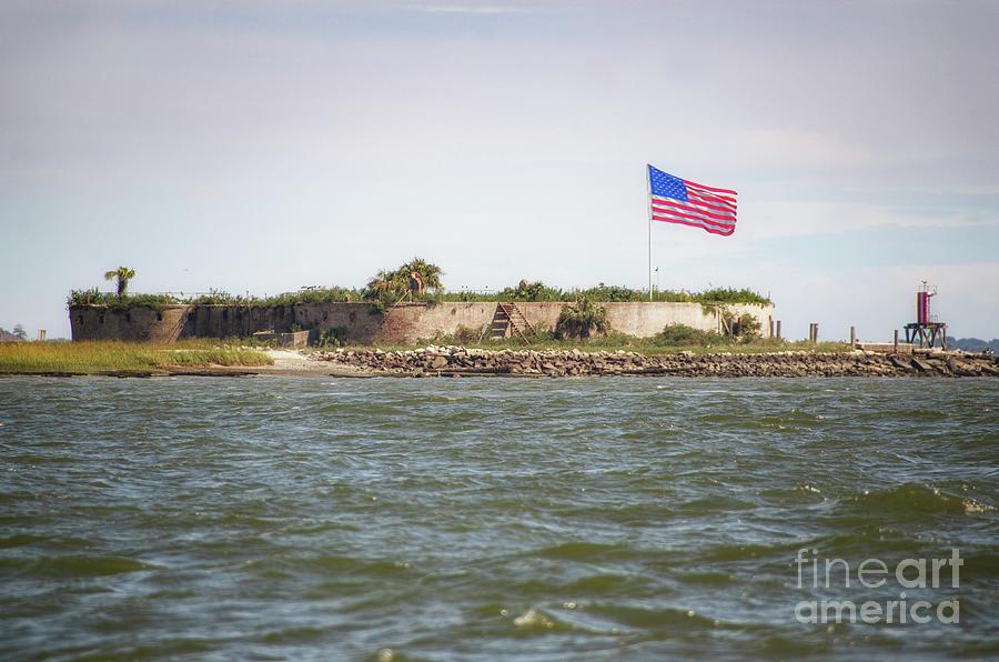 American Civil War Era Fort - Castle Pinckney by Dale Powell