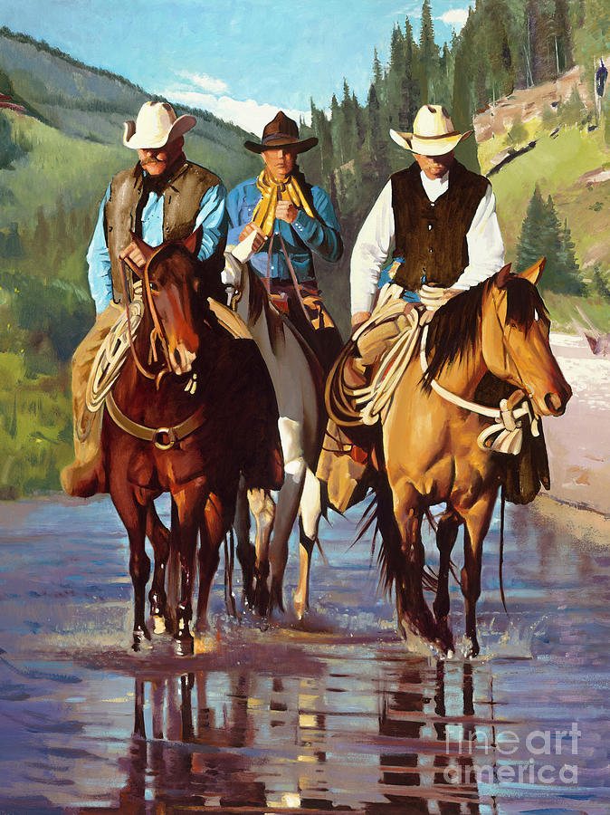 American Cowboys by Michael Stoyanov