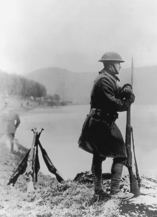 American Doughboy Photograph by Fpg