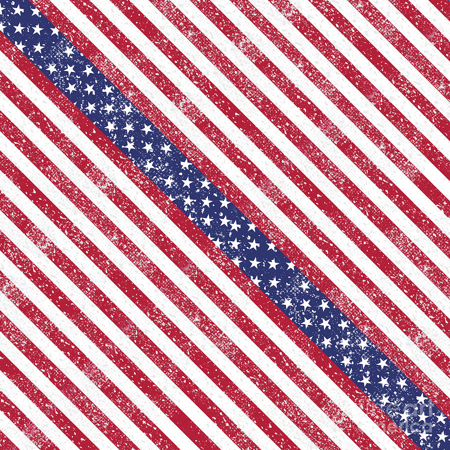 American Flag Art by Gravityx9 Designs