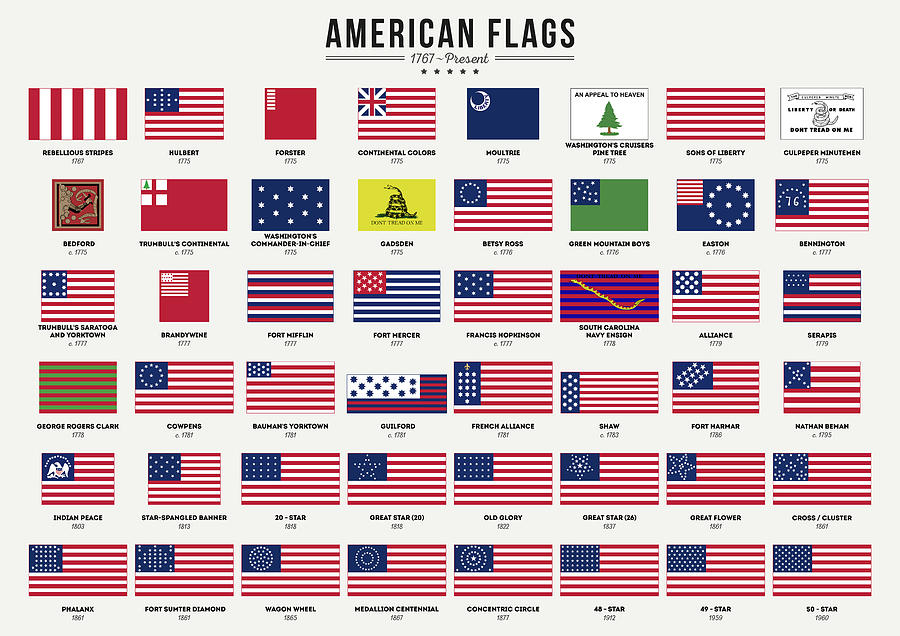 American Flags by Zapista Zapista